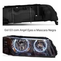 Farol Gol G3 Angel Eyes E Mascara Negra