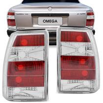 Lanterna Traseira Omega 93 94 A 98 Esportiva Tuning Cristal