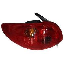 Lanterna Traseira Peugeot 206 04/05/06/07 Vermelho - Novo