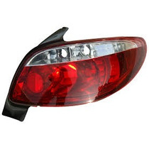 Lanterna Altezza Peugeot 206 98/10 - 207 Hatch 09/13 Red