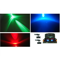 Mini Spot Alto Brilho Led Neon Carro Moto Pedaleira Som Pain