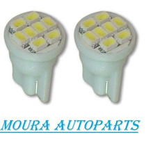 Kit Led Ford Ka Fiesta New Focus Meia Luz Placa Ré Leitura