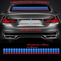 Painel Gráfico Sensor Led Equalizador Rítmico P/ Carro 45x11