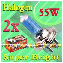 Kit Lâmpadas Para Carros Halógeneas H7, 55 W, 12 V