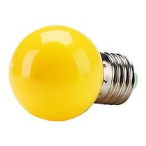 Lâmpada Bolinha De Luz Led E27 Amarelo 1w Sorocaba-sp