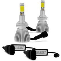 Kit Lâmpadas H27 6000k Tipo Xenon Super Led Headlight 12/24v