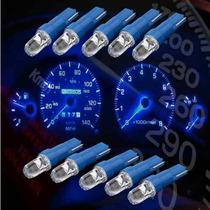 Lâmpada Led Automotiva T5 Azul P/ Painel De Carro, Moto Etc