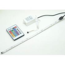 Kit Fita Flexivel Adesiva 150 Led Rgb 2,5m Controle Efeitos