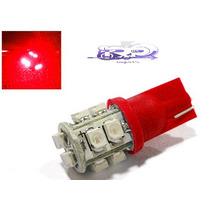 2 Lampadas Pingo Vermelha 10 Leds Cada - Pronta Entrega
