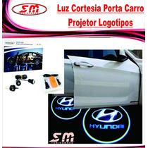Projetor Porta De Carro Luz De Cortesia Iluminação Hyundai