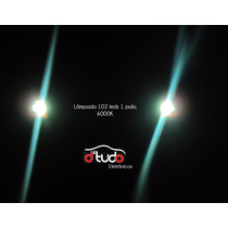 Lampada 1 Polo 102 Leds Smd 1156 Xenon 6000k Super Forte