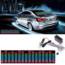Adesivo Equalizador Gráfico De Leds Com Sensor Ritmico 45x11