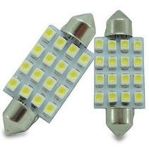 Lampada Torpedo 16 Leds P/ Teto,mala,placa Luva, Interna Etc