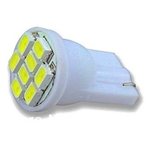 Lampada Pingo 8 Leds T10 Xenon Super Branca Frete Fixo 6,00