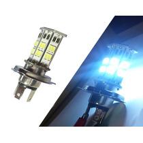 Lampada Farol Em Led H4 Para Moto Efeito Xenon Maior Alcance