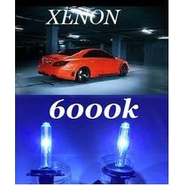 Par Lâmpada Xênon 6000k H1 H3 H4.2 H7 H11 Reposição Farol
