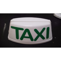 Luminoso Para Taxi Imantado Médio Iluminação Led Especial
