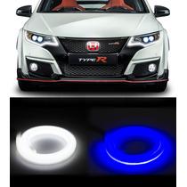 Barra Led Flexível Drl/luz Diurna 12v Carro E Moto + Sorteio