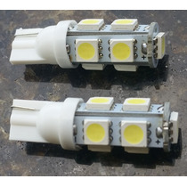 Kit 2 Lampada Led Automotiva Pingo 9 Leds-branco