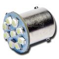 Lampada Ré Luz Placa 9 Leds 1156 P21w 67 Super Branca 1 Polo