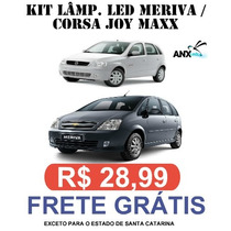 Kit Lampadas Led Meriva / Corsa Joy Maxx