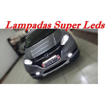 Honda Hr-v Hrv Lampadas Led Farol Alto Baixo Milhas Lanterna