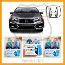 Kit Lampada Super Branca 2 H11+2 Hb3+ 2h11 New Civic 2014