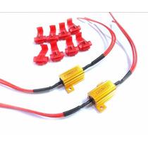 2 Resistores No Error Setas Led Piscarem Certo 25w 8ohm 12v