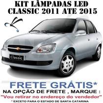 Kit Lâmpada Super Branca Led Corsa Classic Novo Sedan Hatch