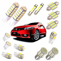 Kit Led Luz Branca New Civic 2006 2007 2008 2009 2010 2011