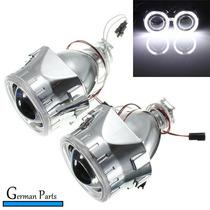 Kit Projetor Farol Bi-xenon Angel Eyes Retrofit H4 H7 2,5