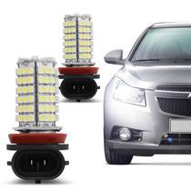 Lâmpada Super Branca 120 Leds H11 6000k 5w Farol Milha Xenon