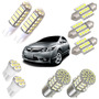 Kit Lâmpadas Led New Civic Pingo Teto Placa Ré Torpedo Xenon