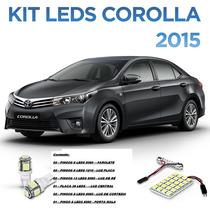 Leds Toyota Corolla 2015 + Kit Xenon Milha Farol Baixo