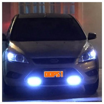 Farol Milha Neblina Day Light Led Lampada Vw Gol G6 G5 G4