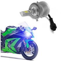 Lampada Farol Led Moto Bi Xenon H4 Baixo + Alto 3200 Lumens