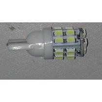 Par Super Lâmpada T10 Pingo 20 Leds Xenon Ultra Brilho! W5w