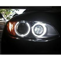 Kit Angel Eyes Bmw Serie 1 3 5 X1 X5 X6 Z4 - H8 40w Led Cree