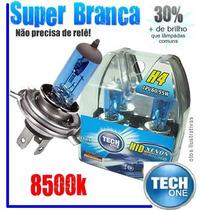 Par Lampada H1 H3 H4 H7 H11 H27 Hb3 Hb4 S. Branca Tipo Xenon