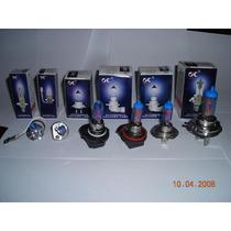 Lâmpada Branca Efeito Xenon 55w 5500k H1 H3 H4 H7 H11 Hb4