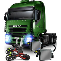 Kit Xenon Farol Caminhão 24v Reator Hid Luz Lampada H3 6000k