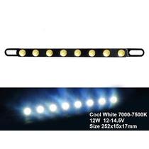Lâmpada Led Para Carros - Fita Para Luz Diurna E Noturna 12w