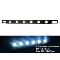 Lâmpada Led Para Carros - Fita Para Luz Diurna E Noturna 9w