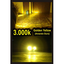 Lâmpada Xenon 3000k H1 H3 H4 H7 Hb3 Hb4 H11 H27 Gold Amarelo