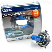 Lâmpada Diamond Vision H4 Philips Original 5000k