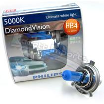 Lâmpada Tipo Xenon Philips Diamond Vision Hb4 5000k