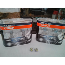 Lampada Osram Night Breaker Unlimited Kit H7 H1 + Pingão Led