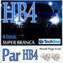 Par Lâmpada Super Branca Hb4 Tipo Xenon 8500k + Pingo Led