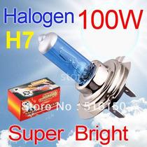 Lampada H7 Super Branca Efeito Xenon 100w - Par