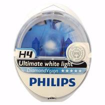 Lâmpada Philips Diamond Vision H1 H3 H4 H7 Hb3 Hb4 Original
